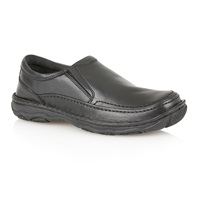 Lotus Slip On Casual Loafers Black