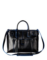 Dolce Vita Juliet Leather Satchel Black