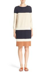 Lafayette 148 New York Women's Colorblock Sweater Dress