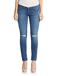 Hudson Distressed Super Skinny Jeans Buena Vista