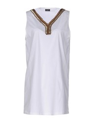 Yoon Short Dresses White