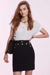 Nasty Gal Vintage Chanel Aline High Waisted Skirt
