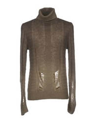 Pierre Balmain Turtlenecks Military Green
