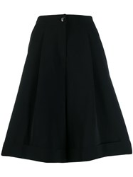 Calvin Klein Wide Leg Shorts Black
