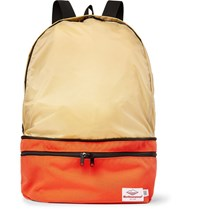 Battenwear Eitherway Cordura And Nylon Ripstop Convertible Bag Bright Orange