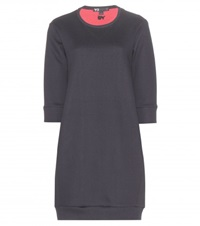 Y 3 Cotton Blend Sweater Dress Black