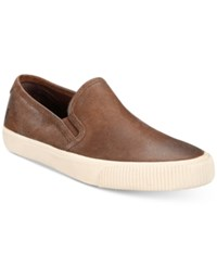 Frye Men's Patton Slip On Shoes Created For Macy's Men's Shoes Brown