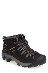 Keen 'Targhee Ii Mid' Hiking Boot Men Black Drizzle