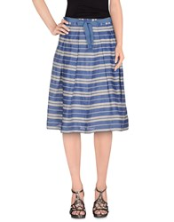 Giorgia And Johns Giorgia And Johns Skirts Knee Length Skirts Women Blue