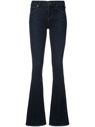 Citizens Of Humanity Bootcut Jeans Cotton Spandex Elastane Blue