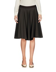 Maurizio Pecoraro Knee Length Skirts Military Green