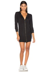 Nation Ltd. Laraine Hoodie Dress Black