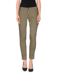 Woolrich Casual Pants Military Green