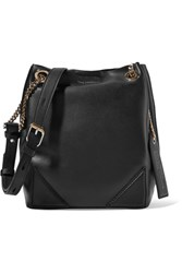 Karl Lagerfeld K Slouchy Leather Tote Black