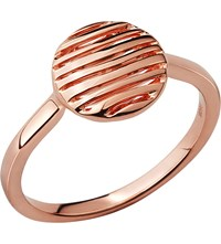 Links Of London Thames 18Ct Rose Gold Vermeil Ring