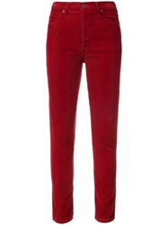 Citizens Of Humanity Olivia Corduroy Jeans Red