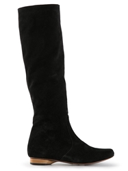 Valas Calf Length Boots Black