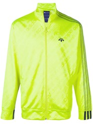 Adidas Originals By Alexander Wang Zipped Jacket Polyester Spandex Elastane S Yellow Orange