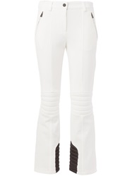 Moncler Grenoble Quilted Detail Trousers White