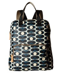 Orla Kiely Backpack Tote Indigo Tote Handbags Blue