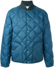 Bellerose Padded Bomber Jacket Blue