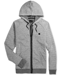 Tavik Men's Zip Up Hoodie Heather Grey