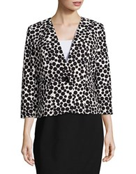 Nipon Boutique Plus Polka Dot Jacket Black Vanilla