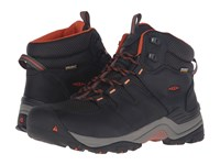 Keen Gypsum Ii Mid Waterproof India Ink Burnt Ochre Men's Waterproof Boots Black