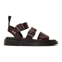 Dr. Martens Brown Gryphon Sandals
