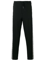 Alexander Mcqueen Tapered Trousers Black