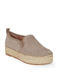 Sam Edelman Carrin Leather Platforms Putty
