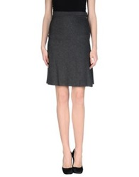 Adele Fado Knee Length Skirts Grey
