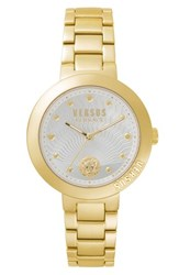 Versus By Versace Women's Lantau Island Bracelet Watch 36Mm Gold White Gold