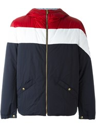 Moncler Gamme Bleu Zipped Sports Jacket Blue