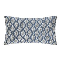 Sanderson Rosa Indigo Bed Cushion 30X50cm
