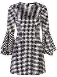 Likely Houndstooth Print Mini Dress 60