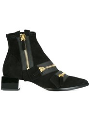 Pierre Hardy 'Lou' Ankle Boots Black