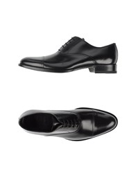 Sebastian Footwear Lace Up Shoes Men Black