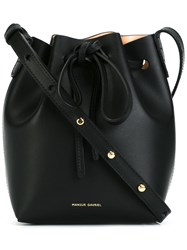 Mansur Gavriel Mini 'Ballerina' Crossbody Bag Black