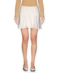 Fixdesign Atelier Mini Skirts Ivory
