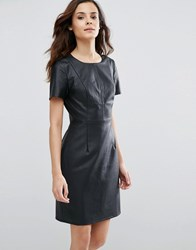 Sugarhill Boutique Betsy Perforated Dress Navy