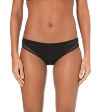 Calvin Klein Naked Touch Tailored Nylon Bikini Briefs 001 Black