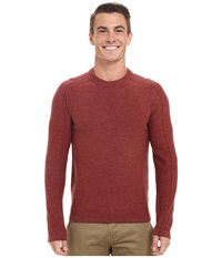 Royal Robbins Fireside Wool Crew Pullover Dark Ember Men's Long Sleeve Pullover Brown