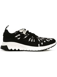 Neil Barrett 'Molecular Runner' Sneakers Black