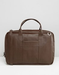 Royal Republiq Leather Ground Day Bag Brown