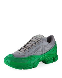 Raf Simons Ozweego Colorblock Trainer Sneakers Gray
