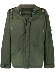 Mr And Mrs Italy Padded Hooded Jacket Green