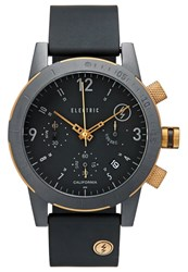 Electric Eyewear Electric Chronograph Watch Black Copper