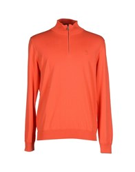 Marina Yachting Knitwear Turtlenecks Men Orange