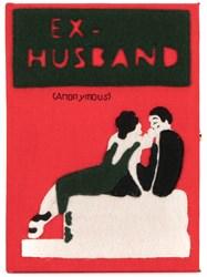 Olympia Le Tan Ex Husband Book Clutch Red